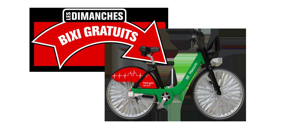 BIXI Vélo du coeur par Manuvie