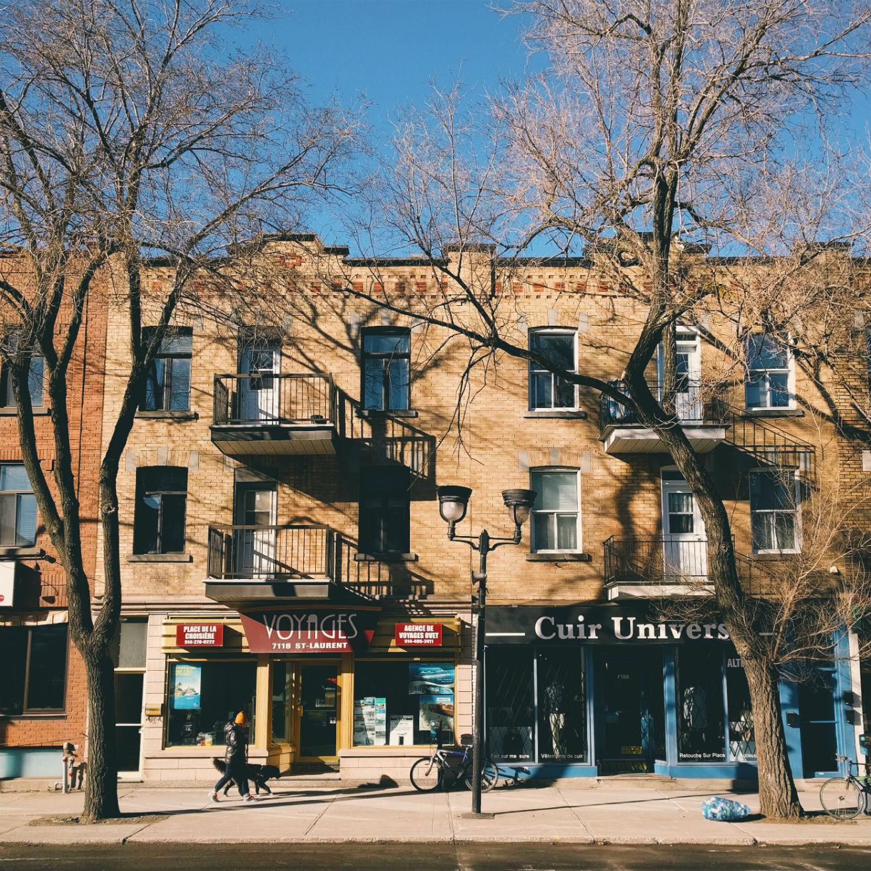boulevard Saint-Laurent Montréal boutiques shops