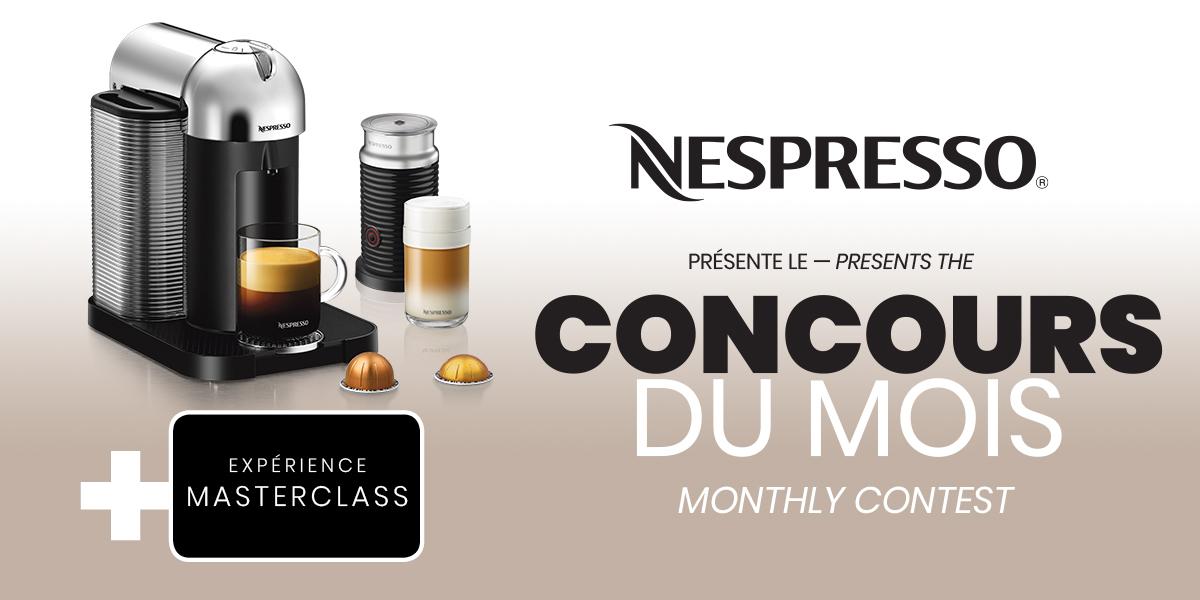 Concours Nespresso + BIXI